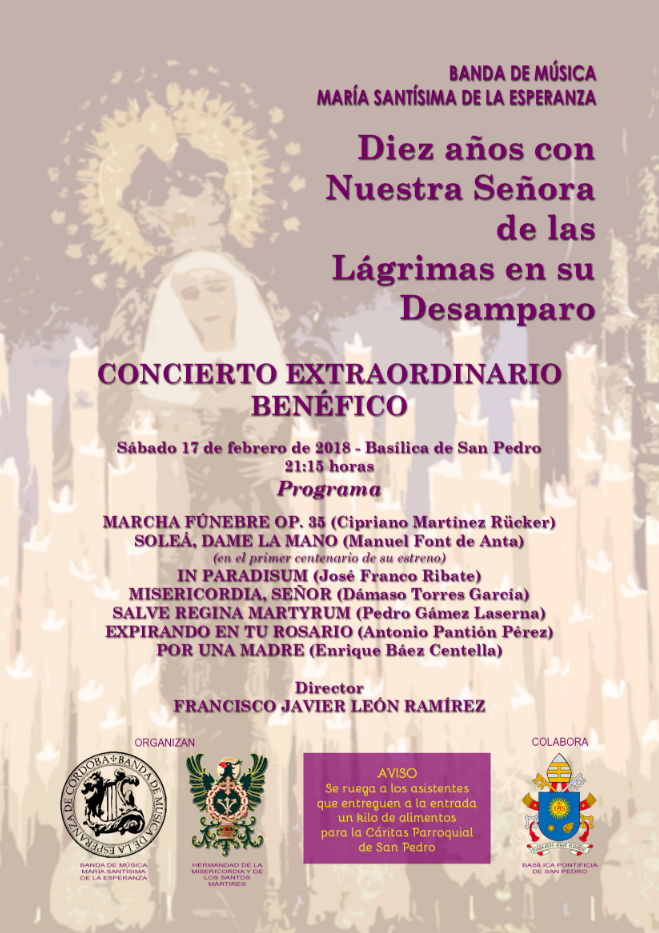 cartel misericordia